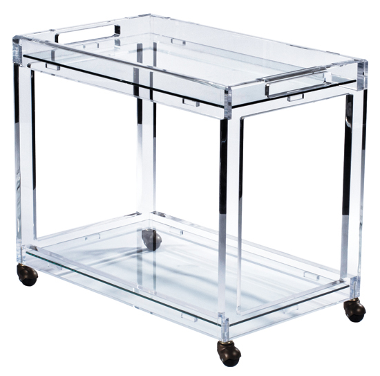 Plexi Craft Bar Cart