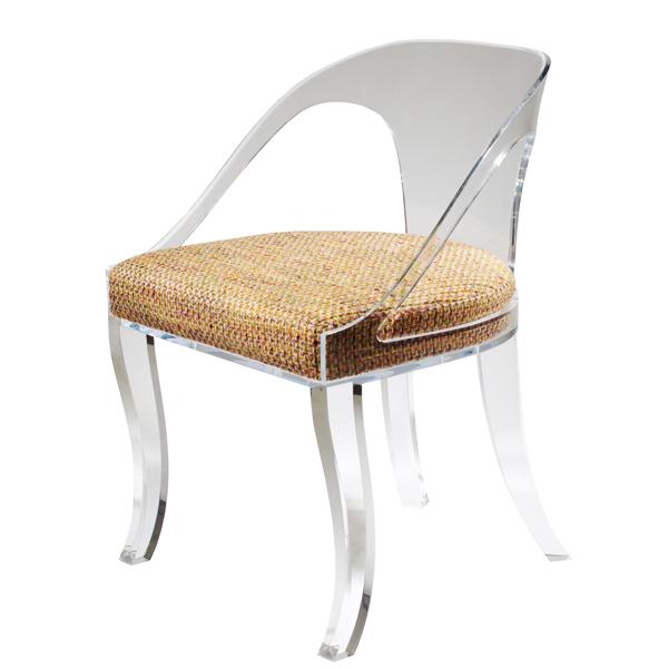 Plexi Craft Klismos Chair
